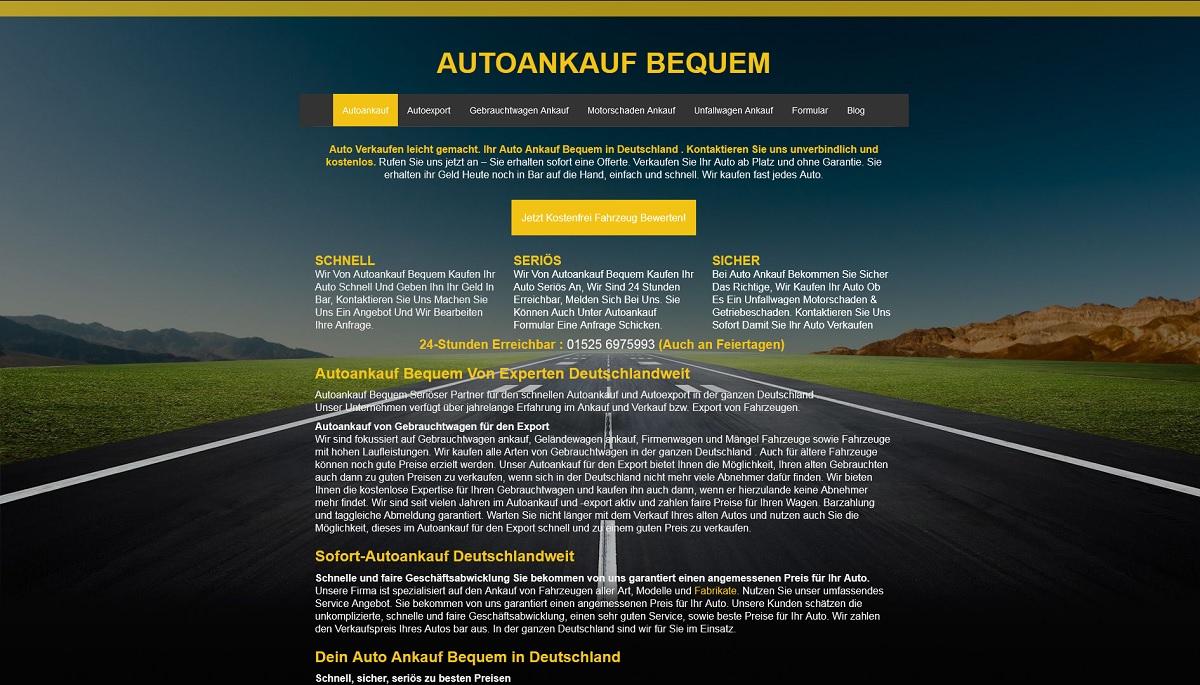 Autoankauf-bequem Bühl