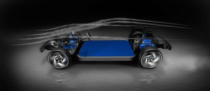 Zukunftsbasis für Elektrosportwagen