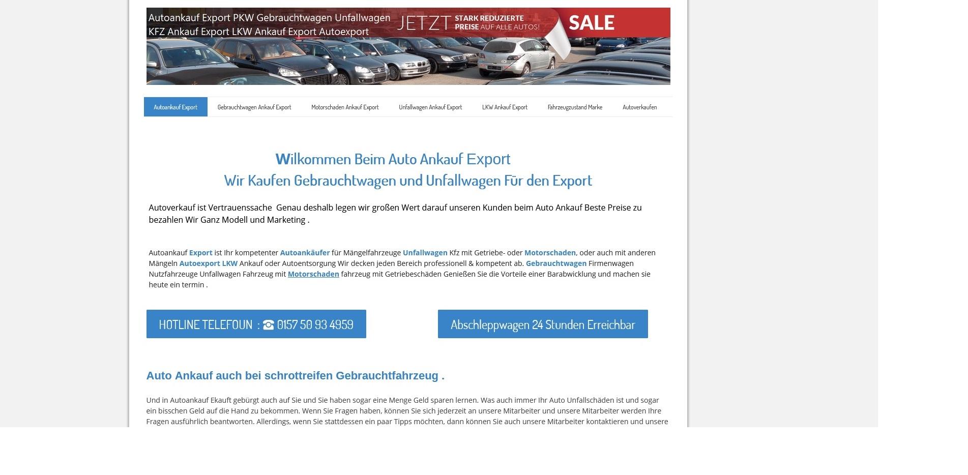 Kfz-Ankauf-export.de | Autoankauf Siegburg | Autoankauf Export Siegburg
