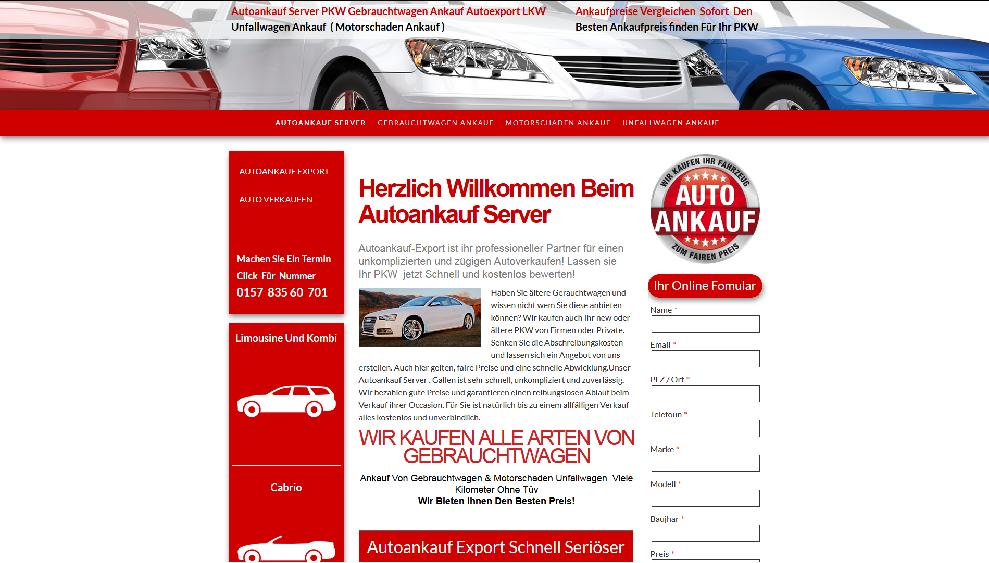 Autoankauf-Server.de | Autoankauf Sankt Augustin | Autoankauf Export Sankt Augustin